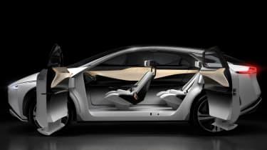 Nissan IMx concept - side doors open