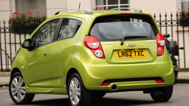 Chevrolet offer the Spark with 1.0 litre and 1.2 litre engines.