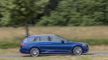Mercedes C-Class Estate - side