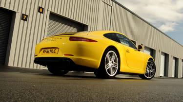 Porsche 911 rear static