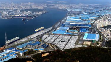 Hyundai Ulsan - factory