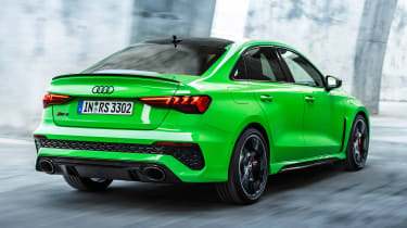 Audi RS 3 Saloon - rear tracking