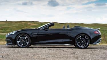 Aston Martin Vanquish S Volante - side profile