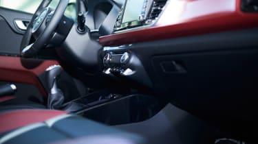 New Kia Rio - reveal event interior