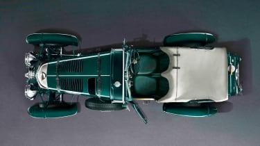 Bentley Blower continuation - above studio