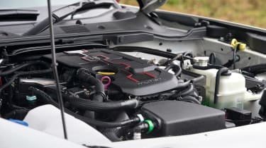 Abarth 124 Spider - engine