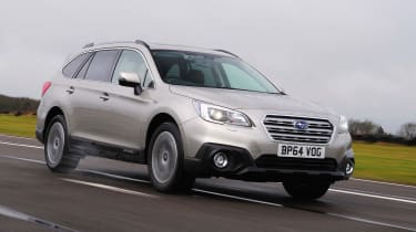 In this test, we've got the Outback in 2.0D SE Premium guise, with the Lineartronic automatic gearbox. It costs £32,995.