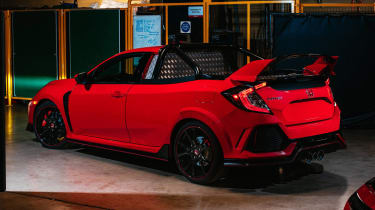 Honda Civic Type R Pickup Truck Concept - rear