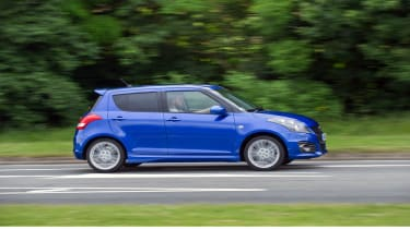 Suzuki Swift side view
