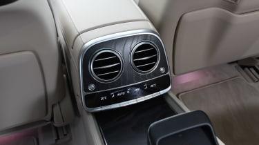 Mercedes S-Class - rear vents