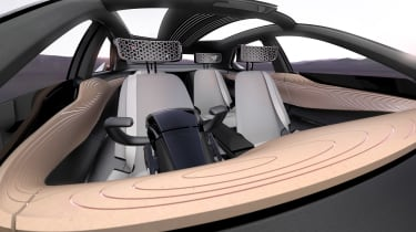 Nissan IMx concept - cabin