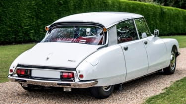 Cool cars: the top 10 coolest cars - Citroen DS rear