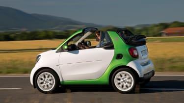 Smart ForTwo Electric Drive Cabrio - side