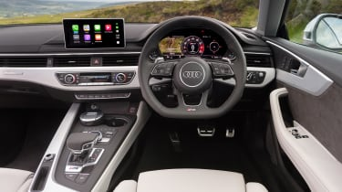 Audi RS5 - dash