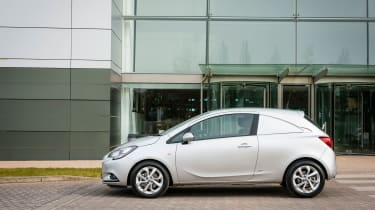 Vauxhall Corsavan has a payload capacity of up to 571kg.