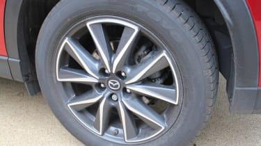 Mazda CX-5 SUV - wheel