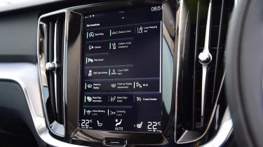 Volvo V60 D3 - infotainment