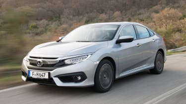 Honda Civic Saloon - front