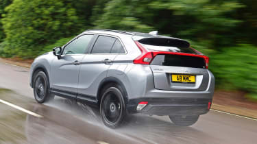Mitsubishi Eclipse Cross Black Connected - rear