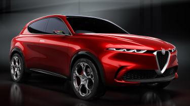 Alfa Romeo Tonale - front