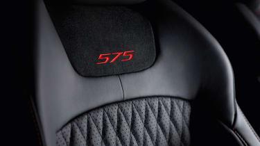 2017 Jaguar XJ facelift - seat