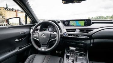Lexus UX - interior
