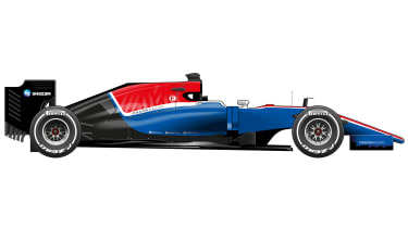 F1 season preview 2016 - Manor car
