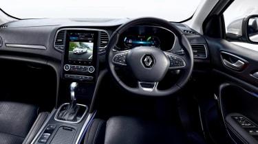 Renault Megane PHEV - dash