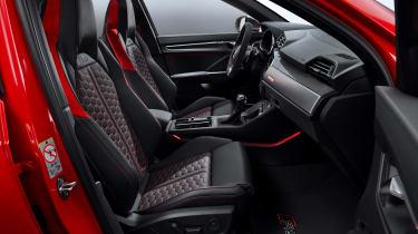Audi RS Q3 - front seats