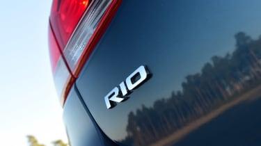 Kia Rio - Rio badge
