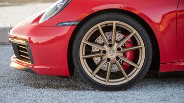New Porsche 911 Cabriolet 2019 wheel