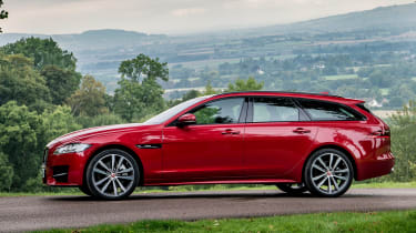 Jaguar XF Sportbrake - side static