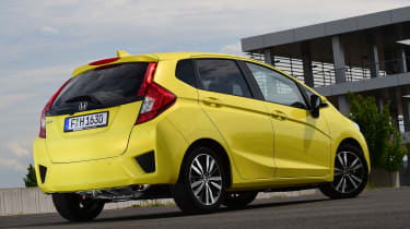 Honda Jazz - rear static