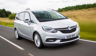 Vauxhall Zafira Tourer - front