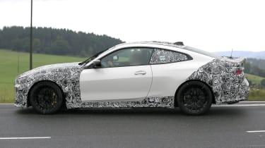 BMW M4 CSL - side