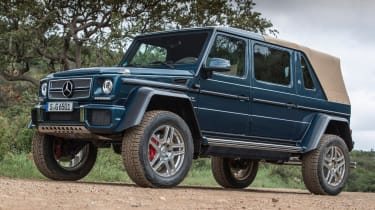 Mercedes-Maybach G 650 Landaulet - front static