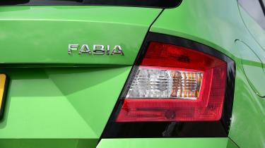 Skoda Fabia - taillight