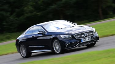 Mercedes S65 AMG action