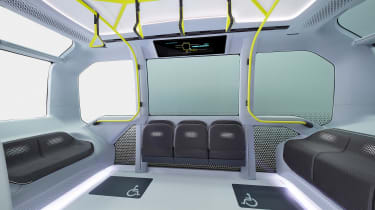 Toyota e-Palette - seats
