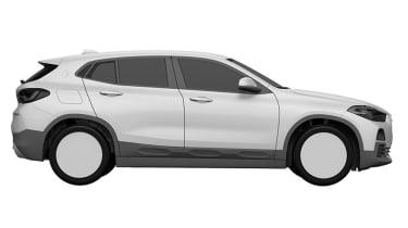 BMW X2 patent leak side profile