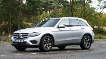 Mercedes GLC - front static