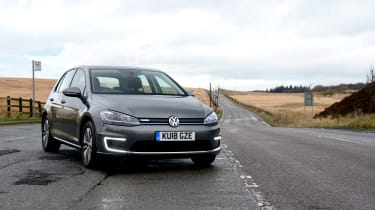 Britain's best driving roads VW e-Golf