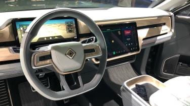 Rivian R1S - LA Motor Show - interior