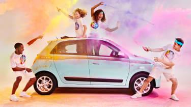Renault Twingo The Color Run Special Edition - side header