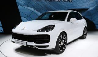 Porsche Cayenne Turbo - Frankfurt front/side
