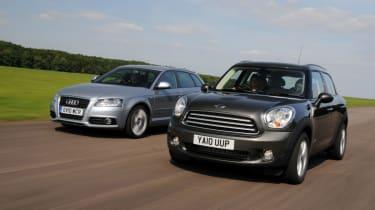 MINI Countryman vs Audi A3