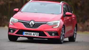Renault Megane ST - front