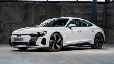 Audi e-tron GT - white front static