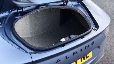 Alpine A110 - boot