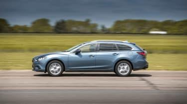 Mazda 6 Tourer 2.2D side